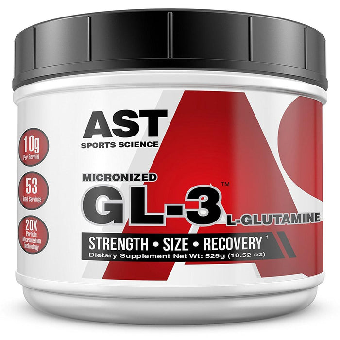 AST Sports Nutrition & More AST GL3 L-Glutamine 525 Grams (580877451308)
