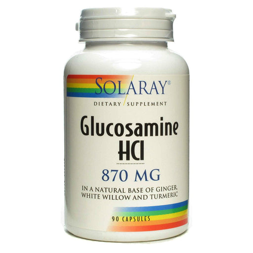 Solaray Sports Nutrition & More Solaray Glucosamine HCl 870mg 90 Caps (580533223468)