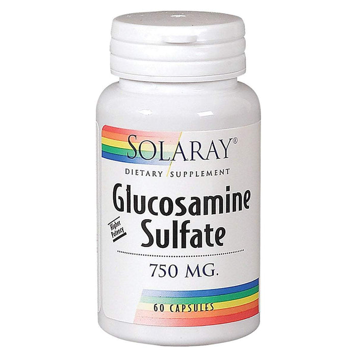 Solaray Sports Nutrition & More Solaray Glucosamine Sulfate 750mg 120 Caps (580533551148)