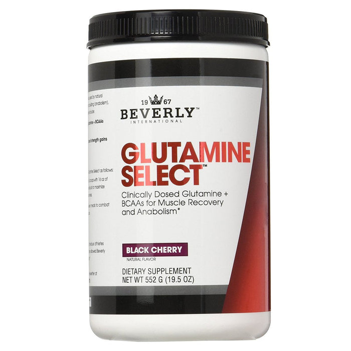 Beverly International Sports Nutrition & More Beverly International Glutamine Select plus BCAAs 552 Grams (580714168364)