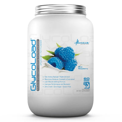 Metabolic Nutrition Sports Nutrition & More Blue Razz Metabolic Nutrition Glycoload 60 Servings