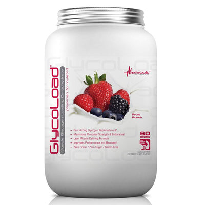 Metabolic Nutrition Sports Nutrition & More Fruit Punch Metabolic Nutrition Glycoload 60 Servings