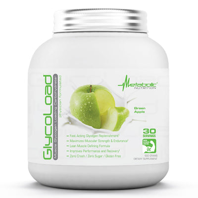 Metabolic Nutrition Sports Nutrition & More Green Apple Metabolic Nutrition Glycoload 30 Servings