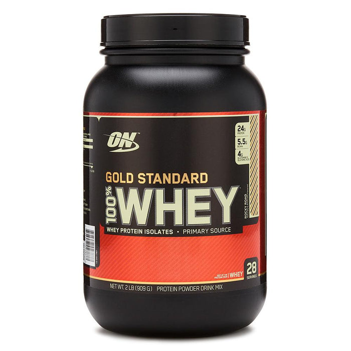 Optimum Nutrition Sports Nutrition & More Rocky Road Optimum Nutrition 100% Whey Protein Gold 2 Lbs | Build Muscle & Strength (580567695404)