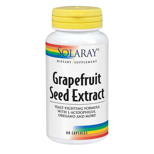 Solaray Vitamins, Minerals, Herbs & More Solaray Grapefruit Seed Extract Yeast Fighting Formula 250mg 60 Caps (580640964652)