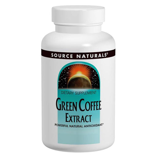 Source Naturals Sports Nutrition & More Source Naturals GCA Green Coffee Bean Extract 500mg 60 Tabs (581506891820)