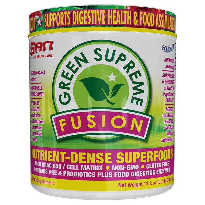 SAN Vitamins, Minerals, Herbs & More Default SAN Green Supreme Fusion 30 Servings (1128969764908)