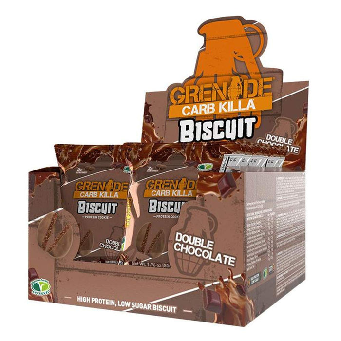 Grenade Foods Juices Chocolate Grenade Carb Killa Biscuit (4488239972467)