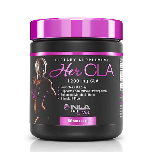 NLA For Her Vitamins, Minerals, Herbs & More NLA For Her Her CLA 60 Softgels (582340804652)