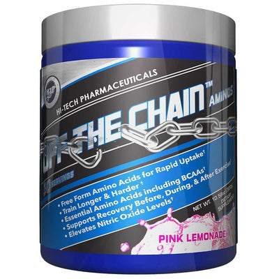 Hi-Tech Pharmaceuticals Sports Nutrition & More Pink Lemonade Hi-Tech Pharmaceuticals Off the Chain 30 Servings (582442287148)