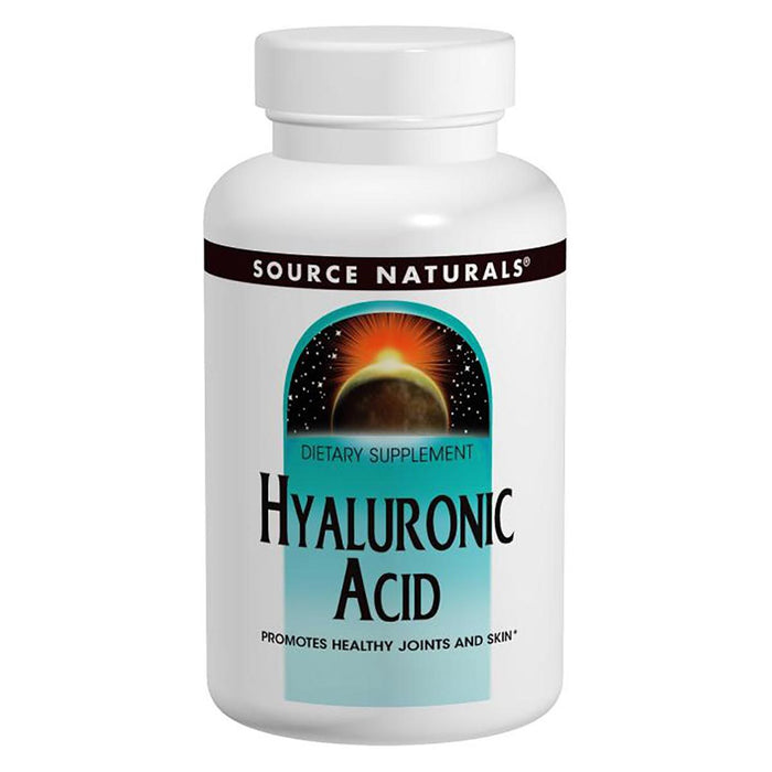 Source Naturals Sports Nutrition & More Source Naturals Hyaluronic Acid 100mg 60 Tabs (580822695980)