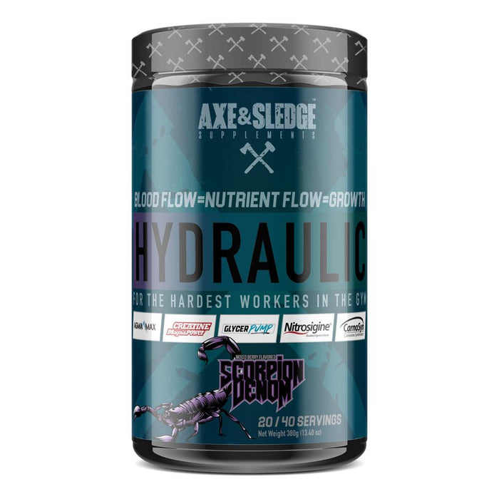 AXE & SLEDGE Sports Performance Recovery SCORPION VENOM AXE & SLEDGE HYDRAULIC 40 SV (3828781645868)