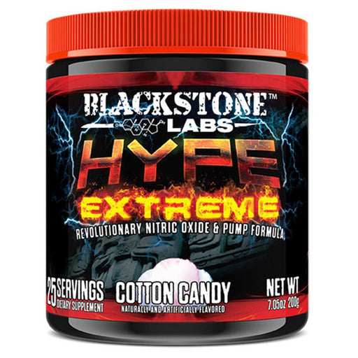 Blackstone Labs Sports Nutrition & More Cotton Candy Blackstone Labs Hype Extreme 25 Servings (582545801260)
