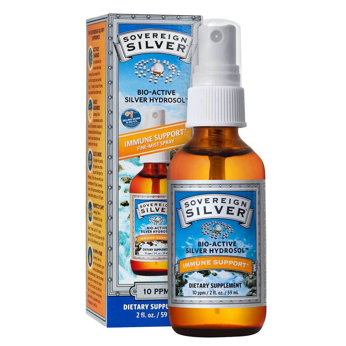 Natural Immunogenics Vitamins, Minerals, Herbs & More Natural Immunogenics Sovereign Silver Fine Mist Spray 2 fl oz (580782358572)