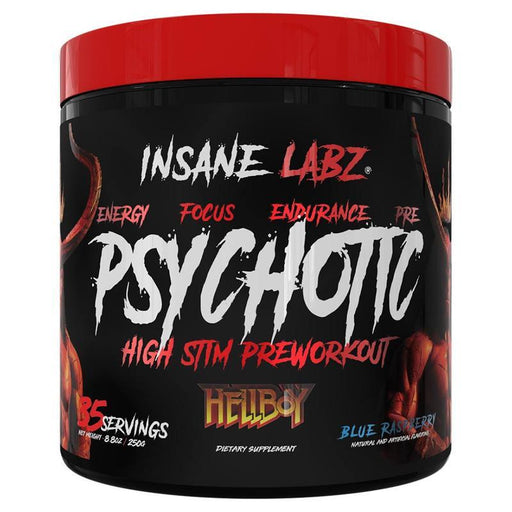 Insane Labz Sports Performance & - Recovery Blue Raspberry Insane Labz Hellboy Psychotic 35 Servings (1756618162220)