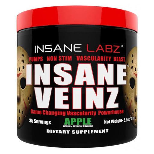 Insane Labz Sports Performance Recovery Apple Insane Labz Insane Veinz 35 Servings (1693060431916)