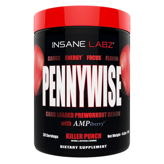 Insane Labz Sports Performance Recovery Killer Punch Insane Labz Pennywise (1715501072428)