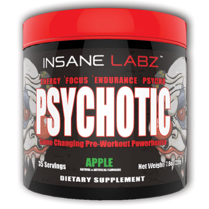 Insane Labz Sports Performance Recovery Apple Insane Labz Psychotic 35 Servings (1693032022060)
