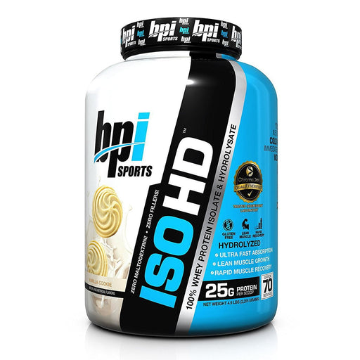 Bpi Sports Nutrition & More Chocolate Brownie Bpi Iso-HD 4.9 Lbs (582351650860)