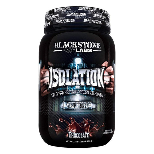 Blackstone Labs Sports Nutrition & More Chocolate Blackstone Labs Isolation 30 Servings (582553927724)