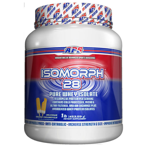 APS Nutrition Orange APS Nutrition Isomorph 28 1Lb (582536003628)