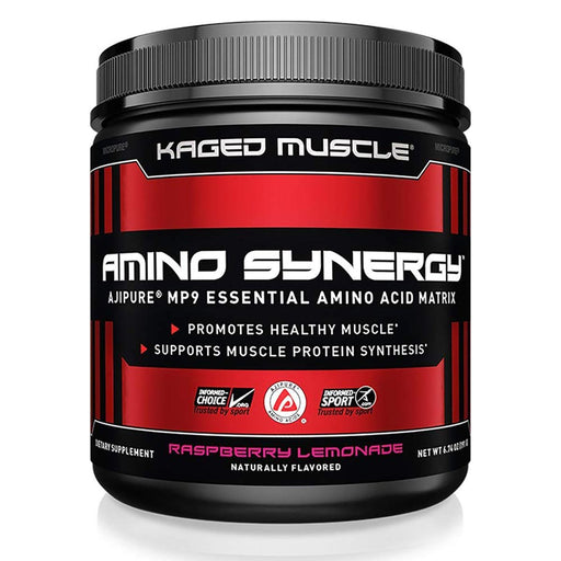 Kaged Muscle Amino Acids Default Kaged Muscle Amino Synergy Raspberry Lemonade 30 Servings (1289208561708)