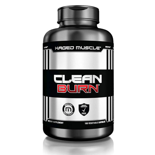 Kaged Muscle Fat Burner Default Kaged Muscle Clean Burn 180 Capsules (1289380266028)