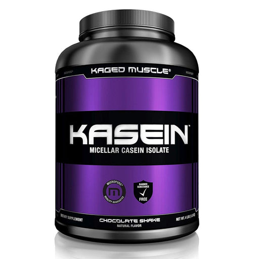 Kaged Muscle Protein Powders Chocolate Shake Kaged Muscle Kasein 4lbs (1314812854316)