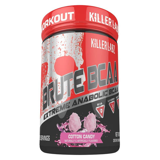 Killer Labz Amino Acids COTTON CANDY Killer Labz Brute BCAA 60SV (1456579182636)