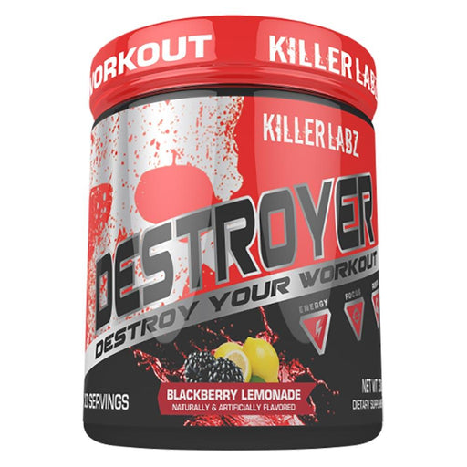 Killer Labz Sports Performance & - Recovery BLACKBERRY LEMONADE Killer Labz Destroyer 300G (1454233747500)
