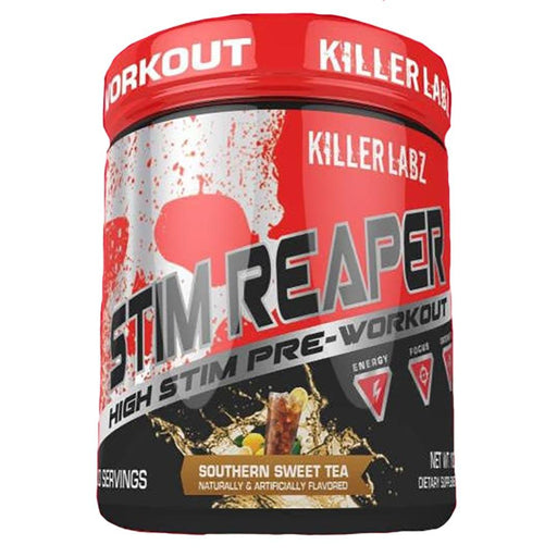 Killer Labz Sports Performance Recovery SOUTHERN SWEET TEA Killer Labz Stim Reaper (1454323859500)