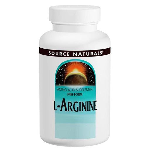 Source Naturals Sports Nutrition & More Source Naturals L-Arginine 1000mg 100 Tabs (580838916140)