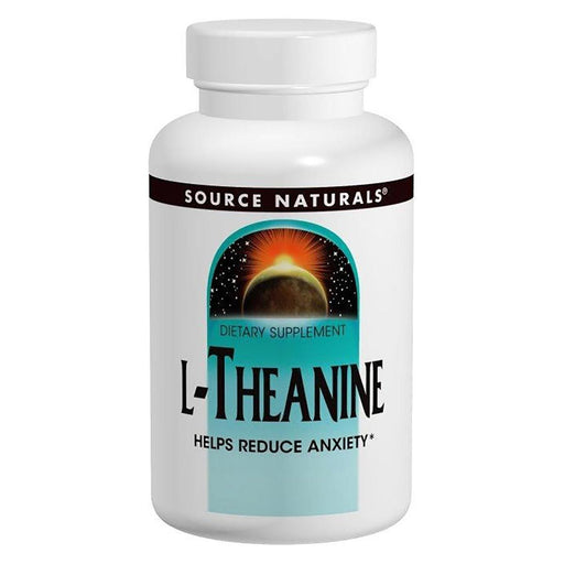 Source Naturals Sports Nutrition & More Source Naturals L-Theanine 200mg 30 Caps (580961206316)