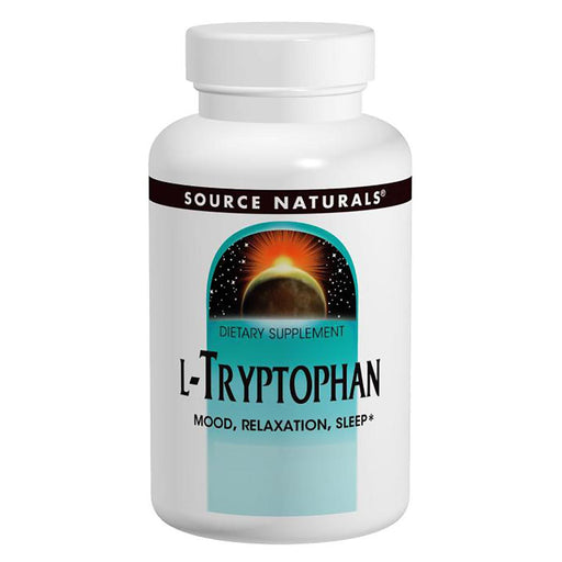 Source Naturals Sports Nutrition & More Source Naturals L-Tryptophan 500mg 60 Caps (580846485548)