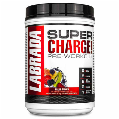 Labrada Nutrition Unclassified Fruit Punch LAB Super Charge! 25 Servings (1764092051500)