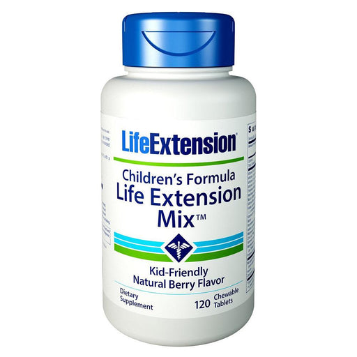 Life Extension Multi Vitamins Default Life Extension Children's Formula Mix 120 Chew Tabs (1584662806572)