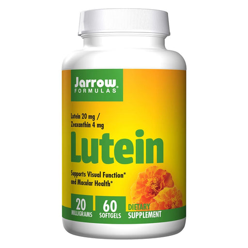 Jarrow Formulas Vitamins, Minerals, Herbs & More Jarrow Formulas Lutein 20mg 60 Softgels (581531271212)