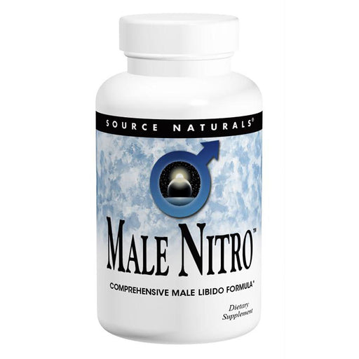 Source Naturals Vitamins, Minerals, Herbs & More Source Naturals Male Nitro 60 Tabs (581673877548)