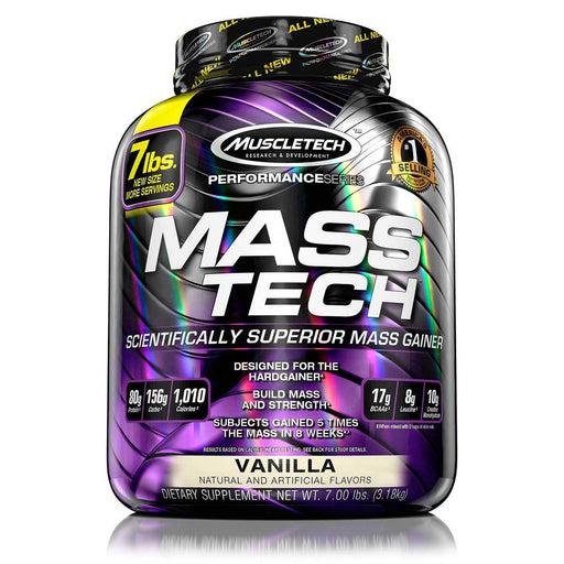 MuscleTech Sports Nutrition & More Chocolate MuscleTech MassTech 7 Lbs (581437358124)