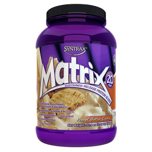Syntrax Sports Nutrition & More Peanut Butter Cookie Syntrax Matrix 2 Lbs (580926308396)