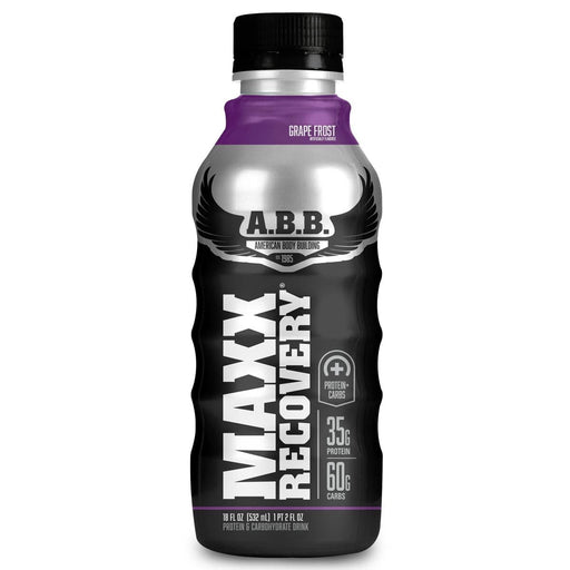 American BodyBuilding Sports Nutrition & More Grape American BodyBuilding Maxx Recovery 12/Case (582506938412)