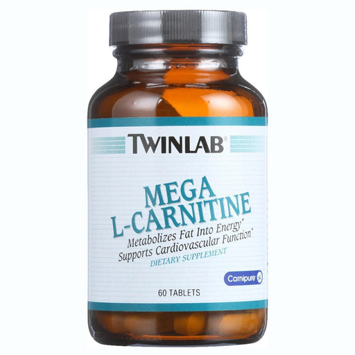 Twinlab Sports Nutrition & More Twinlab Mega L-Carnitine 500mg 60 Tablets (580493475884)