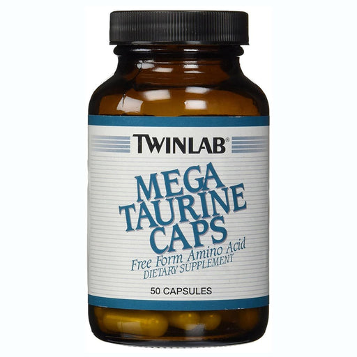 Twinlab Sports Nutrition & More Twinlab Mega Taurine 1000mg 50 Capsules (580493738028)