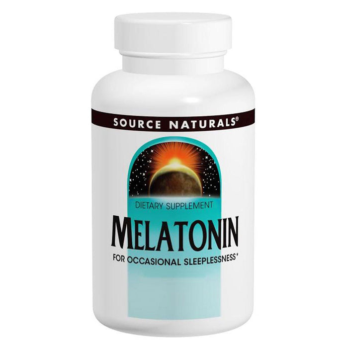 Source Naturals Vitamins, Minerals, Herbs & More Source Naturals Melatonin 1mg 100 tabs (580486692908)