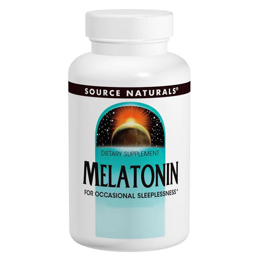 Source Naturals Vitamins, Minerals, Herbs & More Source Naturals Melatonin 3mg 120 Tabs (580485906476)