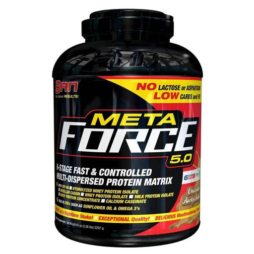 SAN Sports Nutrition & More Chocolate Rocky Road SAN Meta Force 81 Oz (5.06 lbs) 2 (581762908204)