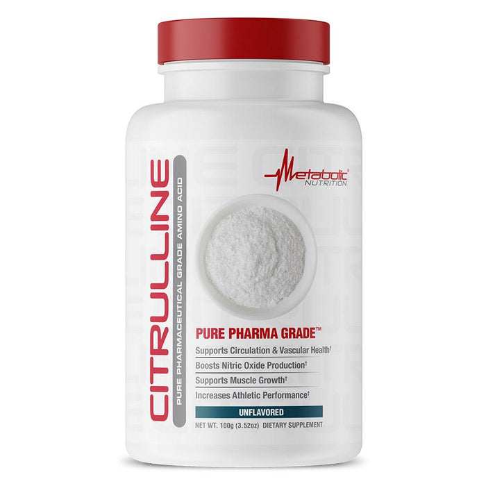 Metabolic Nutrition Amino Acids Default Metabolic Nutrition Citrulline 100g (1864774254636)