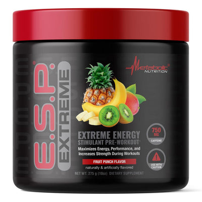 Metabolic Nutrition Sports Nutrition & More Fruit Punch Metabolic Nutrition ESP Extreme (582664749100)