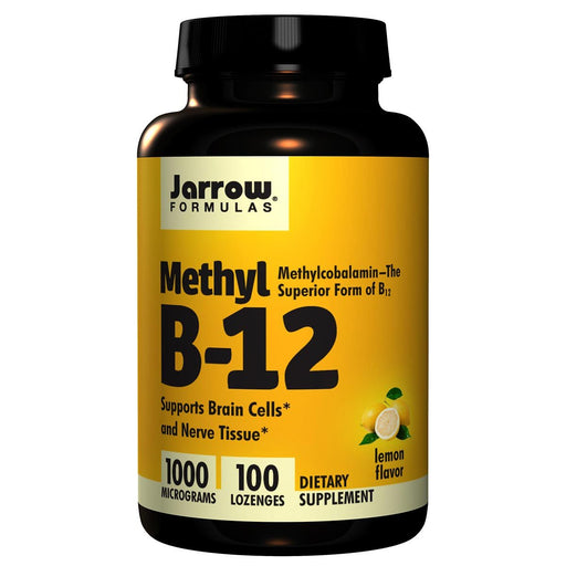 Jarrow Formulas Vitamins, Minerals, Herbs & More Jarrow Formulas Methyl B-12 1000mcg 100 Lozenges (581531107372)