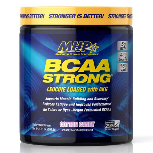 MHP Amino Acids Cotton Candy MHP BCAA Strong 30 Servings (1742168358956)